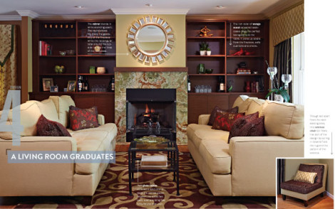 Long Island Pulse Magazine – A Living Room Graduates