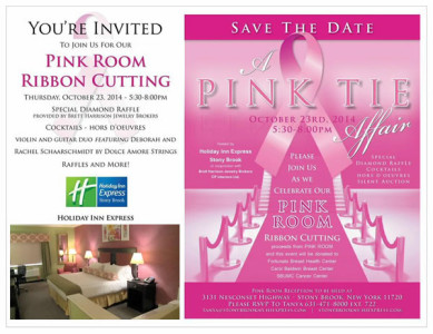 Long Island Hotel Checks In To Breast Cancer Fight, Unveils Pink Room Designer – Crystal Photiou
